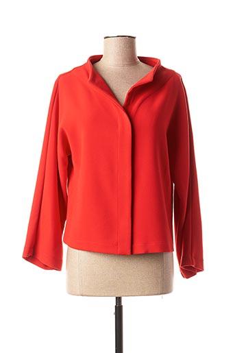 Veste casual rouge GR NATURE pour femme