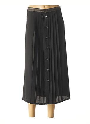 Jupe longue noir I.CODE (By IKKS) pour femme