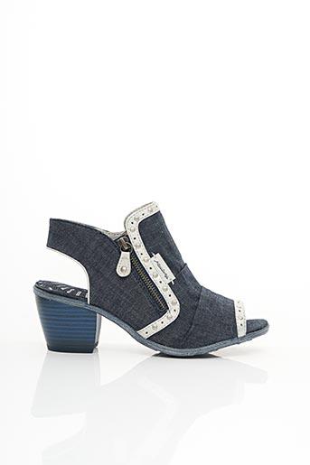 Bottines/Boots bleu MUSTANG pour femme