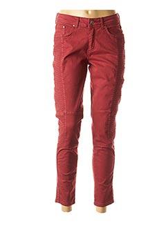 Pantalon 7/8 rouge JENSEN pour femme