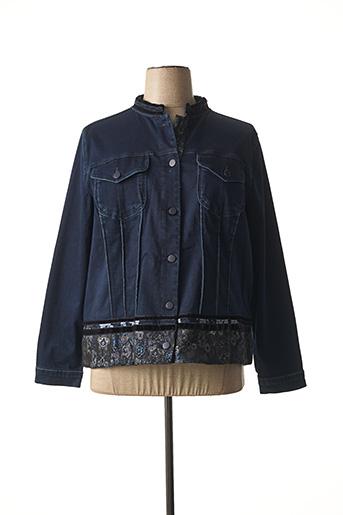 Veste casual bleu FRED SABATIER pour femme
