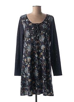 Robe courte bleu COLINE pour femme