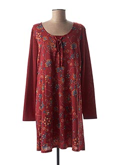 Robe courte rouge COLINE pour femme