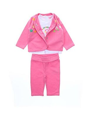 Veste/pantalon rose TUC TUC pour fille