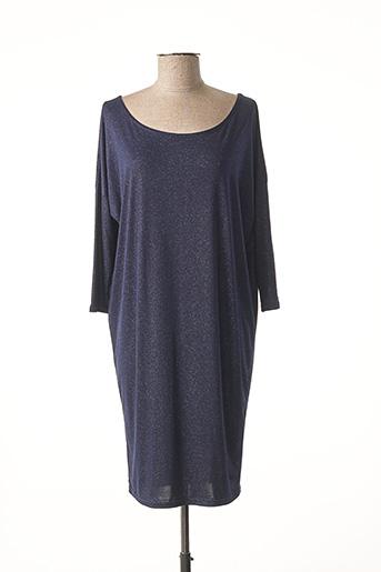 Robe mi-longue bleu AU SOLEIL DE ST TROPEZ pour femme