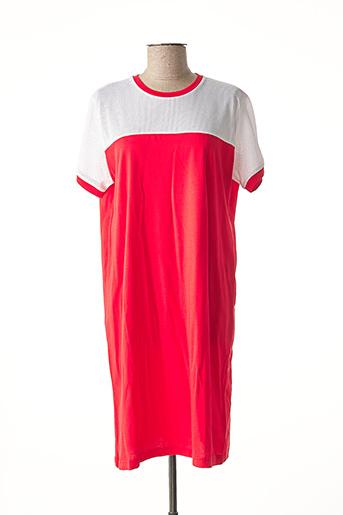 Robe mi-longue rouge COLMAR pour femme