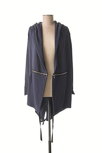 Veste casual bleu POUPÉE DE SOIE pour femme