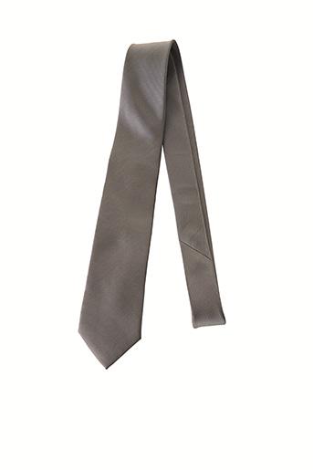 Cravate gris BEVERLEY pour homme
