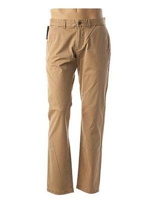 Pantalon casual beige CALAMAR pour homme