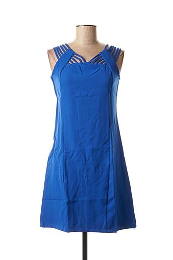 Tunique sans manche bleu L33 pour femme