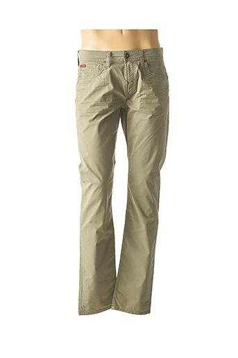 Pantalon casual vert LEE COOPER pour homme