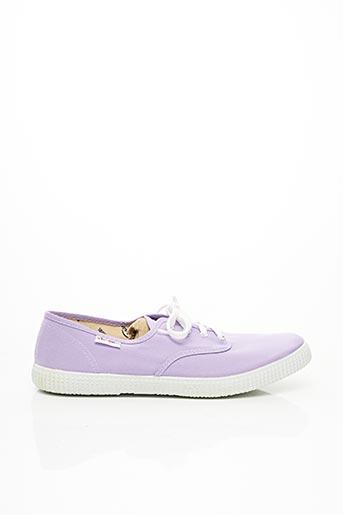 Baskets violet VICTORIA pour unisexe