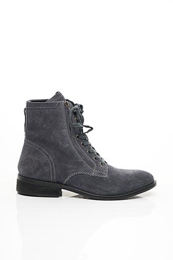 Bottines/Boots bleu DIESEL pour homme