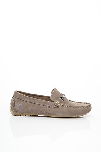 Chaussures bâteau gris U.S. POLO ASSN pour homme