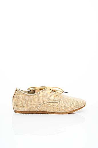 Baskets beige ELEVEN PARIS pour femme