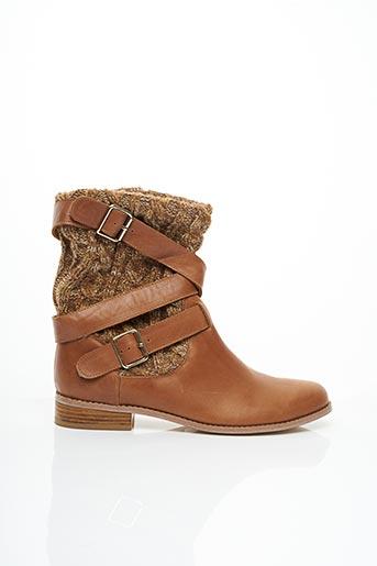 Bottines/Boots marron MELLOW YELLOW pour femme