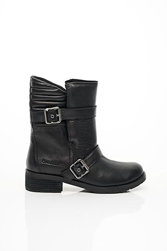 Bottines/Boots noir CALVIN KLEIN pour femme