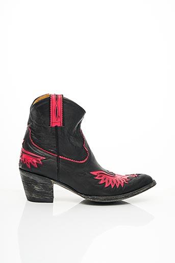 Bottines/Boots rose MEXICANA pour femme