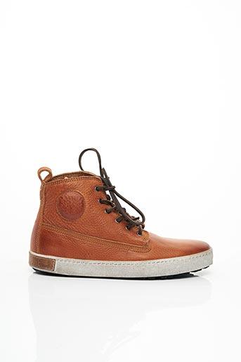 Bottines/Boots marron BLACKSTONE pour homme