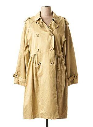 Imperméable/Trench beige CARLA GIANNINI pour femme
