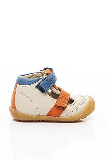 Sandales/Nu pieds beige MOD8 pour garçon