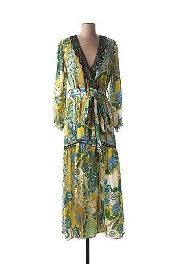 Robe longue vert VALERIE KHALFON pour femme