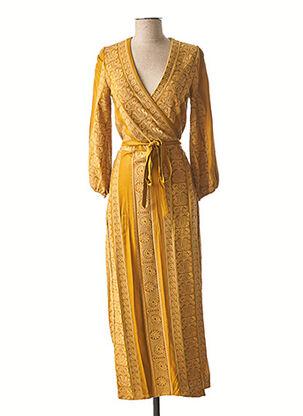 Robe longue marron VALERIE KHALFON pour femme