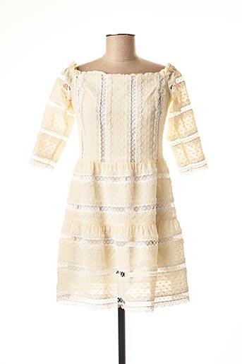 Robe mi-longue beige VALERIE KHALFON pour femme