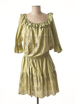 Robe mi-longue vert VALERIE KHALFON pour femme
