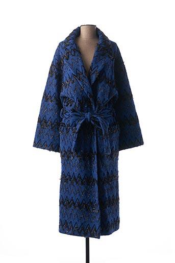 Manteau long bleu VALERIE KHALFON pour femme