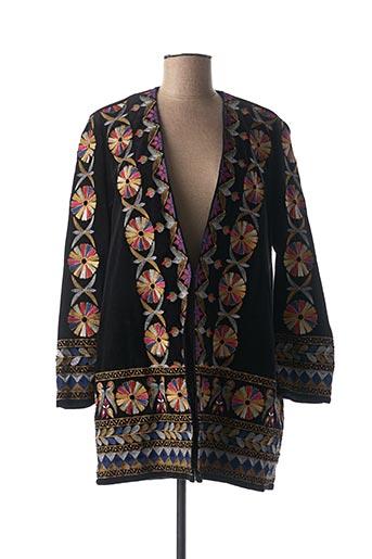 Veste casual noir VALERIE KHALFON pour femme