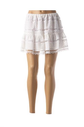 Mini-jupe blanc VALERIE KHALFON pour femme