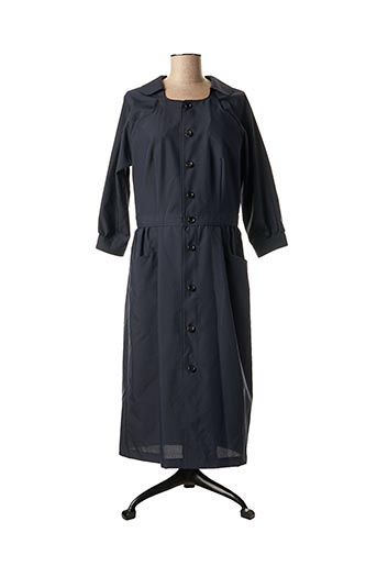 Robe mi-longue bleu COMME DES GARCONS pour femme