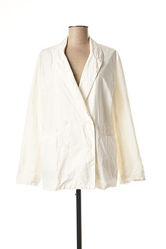 Veste chic / Blazer blanc CASEY.CASEY pour femme