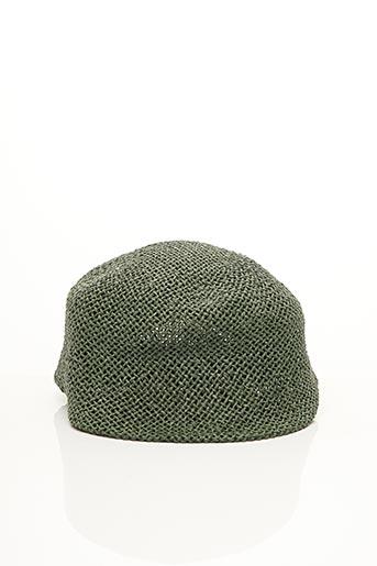 Chapeau vert CLAUDIA SCHULZ pour femme
