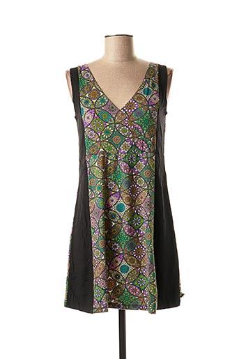 Robe courte vert DIPAWALI pour femme