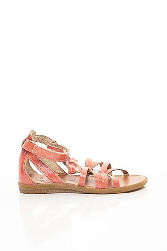 Sandales/Nu pieds orange NOËL pour fille