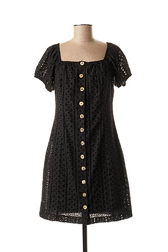 Robe mi-longue noir BSB pour femme