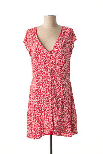 Robe courte rouge ADOREE pour femme