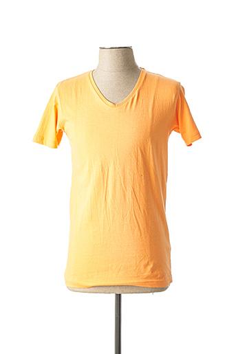 T-shirt manches courtes orange G38 pour homme