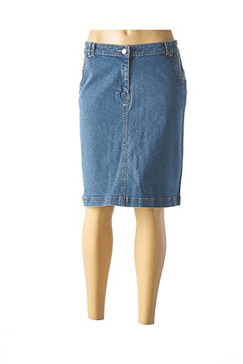 Mini-jupe bleu AGATHE & LOUISE pour femme