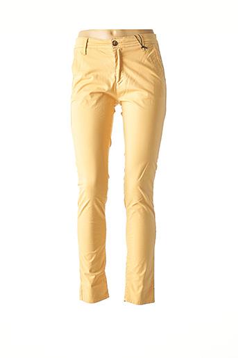 Pantalon casual beige IMPAQT pour femme