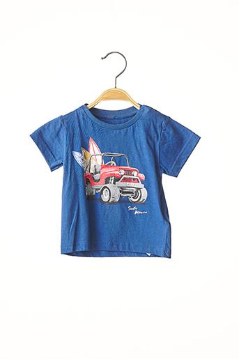 T-shirt manches courtes bleu MAYORAL pour garçon