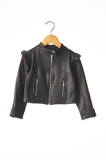 Veste casual noir MAYORAL pour fille