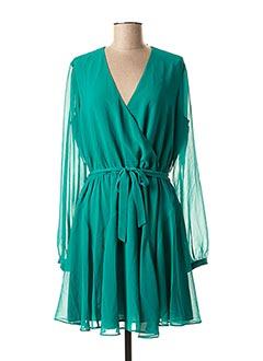 Robe mi-longue vert GUESS pour femme