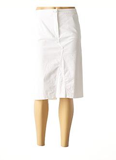 Jupe mi-longue blanc GERRY WEBER pour femme