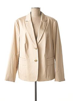 Veste chic / Blazer beige GERRY WEBER pour femme