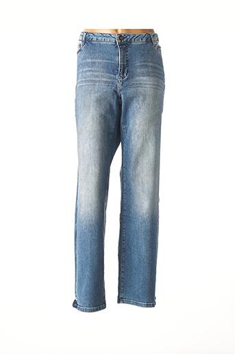 Jeans coupe droite bleu JUNA ROSE BY VERO MODA pour femme