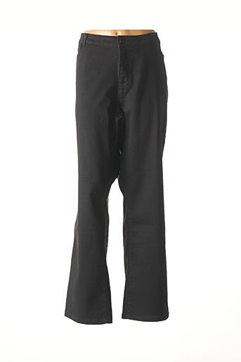 Jeans coupe droite noir VERO MODA pour femme