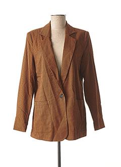 Veste chic / Blazer marron VILA pour femme